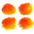 orange watercolor stains stock photo © sonya_illustrations