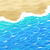 sea surf and beach sand stock photo © sonya_illustrations