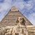 Egipto · cara · pirámide · giza · famoso · antigua - foto stock © sophie_mcaulay