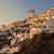 város · Santorini · Görögország · naplemente · tenger · hagyományos - stock fotó © sophie_mcaulay
