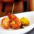 king prawn tikka with a saffron rice cake stock photo © sophiejames