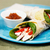 healthy chicken salad wrap with red bell pepper stock photo © sophiejames