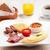 fasulye · sosis · plaka · gıda - stok fotoğraf © sophiejames