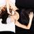 jonge · vrouw · slapen · oog · kamer · reizen · ontspannen - stockfoto © spectral
