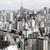 dumanlı · sis · panorama · modern · şehir · manzara - stok fotoğraf © spectral