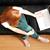 jonge · meisje · laptop · vrouw · surfen - stockfoto © Spectral