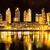 vízpart · Buenos · Aires · gyönyörű · előkelő · felhőkarcolók · éjszaka - stock fotó © spectral