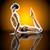 フィットネス · ヨガ · 女性 · ストレッチング · コブラ · ポーズ - ストックフォト © spectral