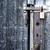 öreg · rozsdás · lakat · fából · készült · ajtó · épület - stock fotó © spectral