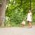 fiatal · lány · ösvény · kukoricamező · lány · természet · farm - stock fotó © spectral