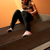 melancholicus · jonge · vrouw · luisteren · muziek · vergadering - stockfoto © spectral