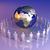 глобальный · команда · Европа · Африка · 3D · оказанный - Сток-фото © spectral
