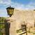 lámpa · elhagyatott · ház · vízszintes · fotó · ajtó - stock fotó © spectral