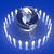 üzlet · tömeg · kék · földgömb · térkép · üzletember - stock fotó © spectral