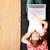 подростку · девушки · расслабиться · домой · счастливым · ноутбука - Сток-фото © spectral