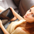 genç · kadın · kanepe · genç · artı · boyutu · kadın - stok fotoğraf © spectral