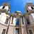 kilátás · öreg · katolikus · templom · zöld · piros - stock fotó © spectral
