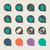 iconen · vals · web · knoppen · geïsoleerd · witte - stockfoto © speedfighter