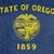 grunge · Oregon · vlag · amerika · geïsoleerd · witte - stockfoto © speedfighter