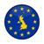 united kingdom map european union flag button stock photo © speedfighter