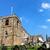 calabazas · cementerio · iglesia · ruinas · nubes · feliz - foto stock © speedfighter