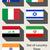 vlag · icon · Indië · geïsoleerd · witte - stockfoto © speedfighter