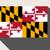Maryland · düğme · amerikan · bayrağı · web · tasarım · stil · yalıtılmış - stok fotoğraf © speedfighter