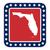 florida state button stock photo © speedfighter