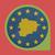 icon · bitcoin · Blauw · eu · vlag · europese - stockfoto © speedfighter