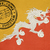 welcome to bhutan flag with passport stamp stock photo © speedfighter