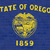 oregon state flag on brick wall stock photo © speedfighter
