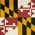 Maryland · zászló · nagy · illusztráció · USA · szalag - stock fotó © speedfighter
