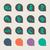 иконки · ложный · веб · Кнопки · изолированный · белый - Сток-фото © speedfighter