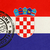 welcome to croatia flag with passport stamp stock photo © speedfighter