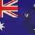 Ausztrália · útlevél · bélyeg · izolált · fehér · üzlet - stock fotó © speedfighter
