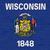 Wisconsin · térkép · kép · renderelt · mű · használt - stock fotó © speedfighter