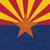 Аризона · флаг · синий · звездой · красный · рисунок - Сток-фото © speedfighter