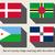 szett · vidék · zászlók · i · betű · zászló · gomb - stock fotó © speedfighter