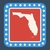 vlag · Florida · geschilderd · houten · textuur - stockfoto © speedfighter