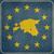 grunge · Estland · europese · knop · kaart · Blauw - stockfoto © speedfighter