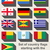 set of flags starting with g stock photo © speedfighter