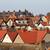 赤 · 屋根 · 屋根 · 絵のように美しい · 町 · 建物 - ストックフォト © speedfighter