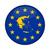 greece map european union flag button stock photo © speedfighter