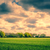 sötét · felhők · mező · vidék · díszlet · tájkép - stock fotó © Sportactive