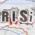 Rood · grafiek · economie · recessie · financiële · crisis · business - stockfoto © sqback