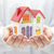 colorful house in hands stock photo © sqback