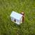 pequeño · casa · hierba · verde · construcción · casa · campo - foto stock © sqback