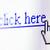 klik · hier · woorden · hand · Blackboard - stockfoto © sqback