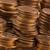 dorado · monedas · macro · tiro · dinero · fondo - foto stock © sqback