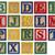 Wooden alphabet blocks isolated on white stock photo © sqback